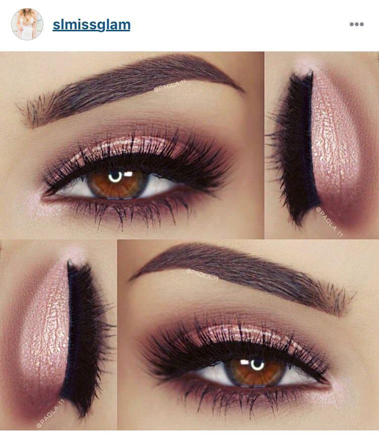 Kinda diggin' this pink eyeshadow | Eye makeup tutorials ...  Kinda diggin...