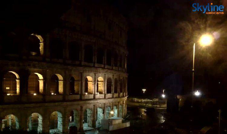 Live Webcam Colosseo roma