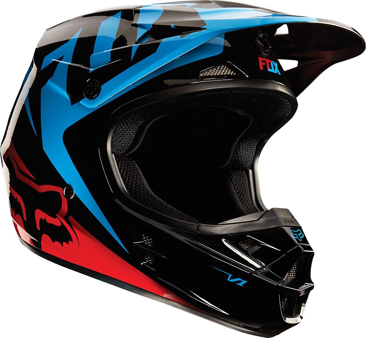 Fox V1 Race Helmet (With images) Motocross helmets