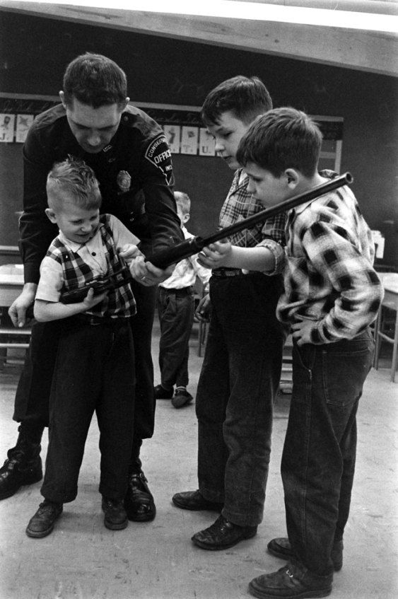There was a time when kids were taught to respect firearms, not fear them