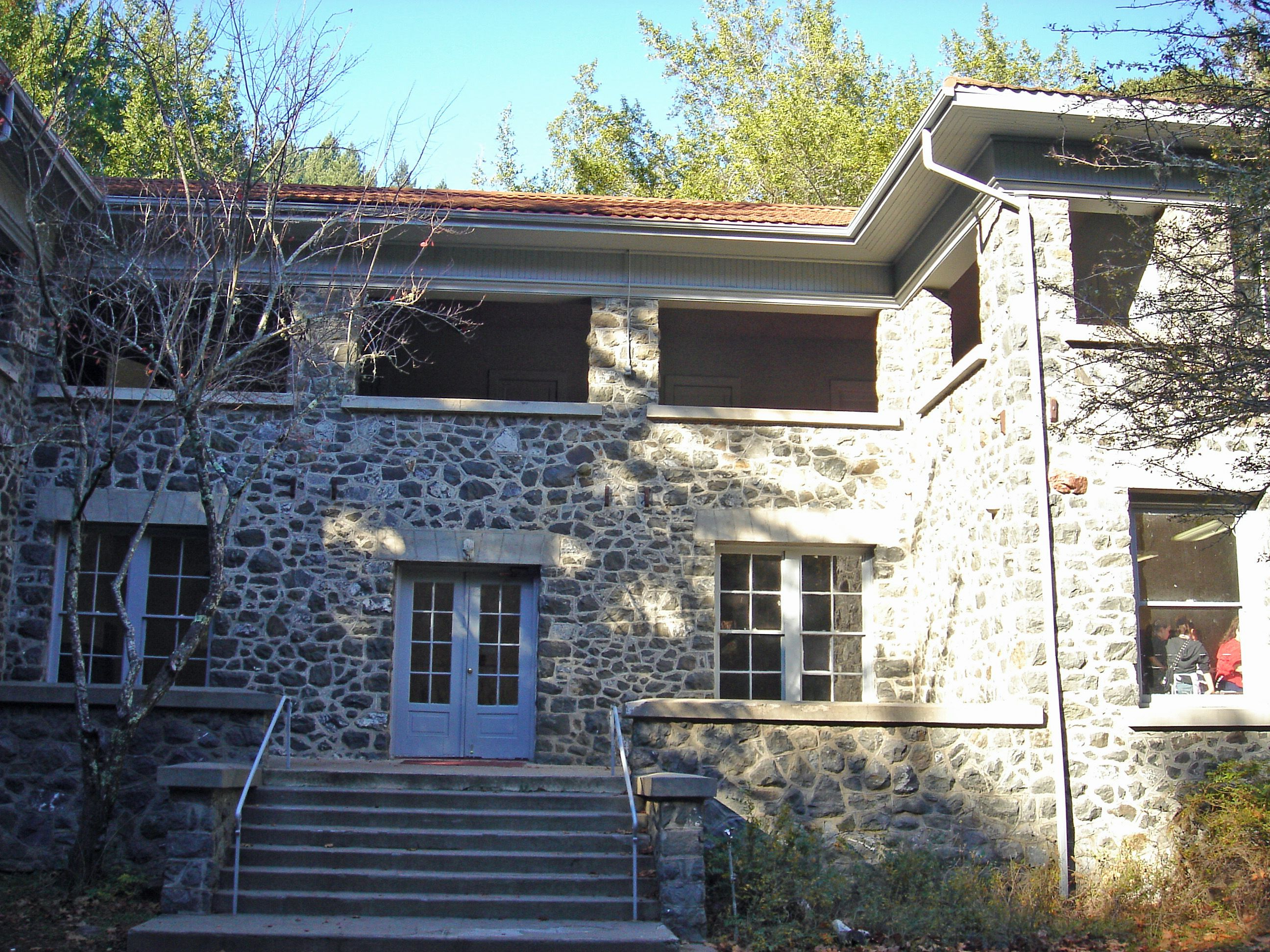 I went to camp here, and just found out it was haunted! Stone house at camp bothin