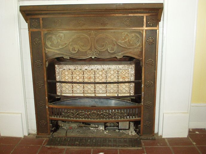 Vintage Ray Glo gas fireplace insert heater, excellent condition ...