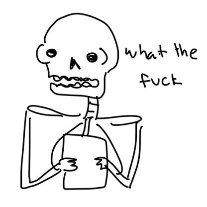 cool skeleton jams | Stupid memes, Funny memes, Bad memes