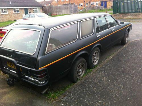 Ford Granada Mk1 Limousine Estate Twin Axle 6 Wheels Ford Granada