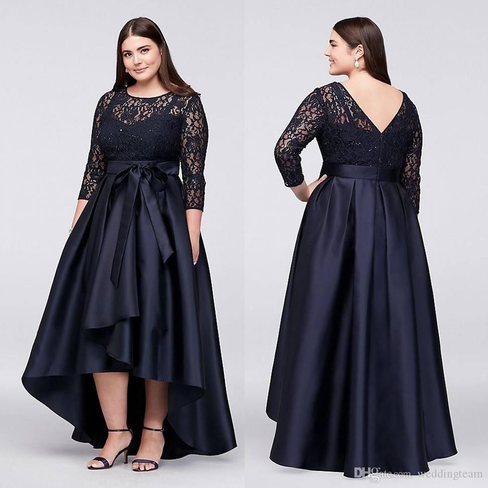 e396948d8266a Plus Size Luxury Couture Prom Gown Capped Short Sleeve Floor Length Sexy  Open Back Sequins Applique Sash Party Dresses For Women Plus Size One  Shoulder ...