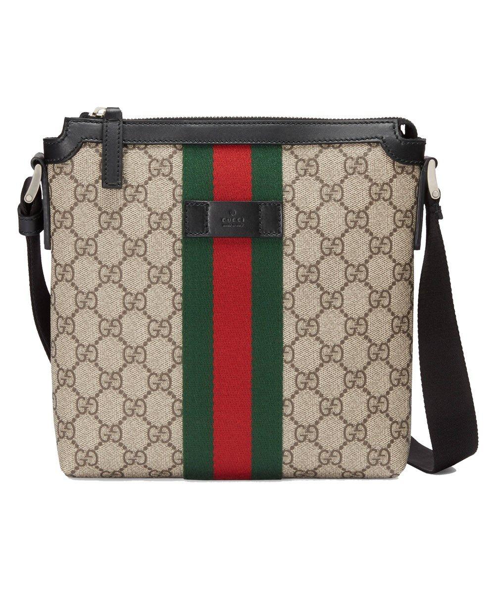 d1f9d9de4beae5 GUCCI Gucci Women'S Beige Pvc Messenger Bag'. #gucci #bags #shoulder bags # leather #pvc #