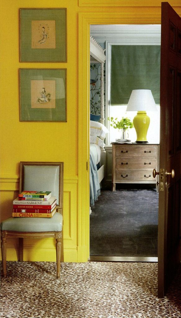 Saffron is a bold and bright color choice, sure to liven up any ...