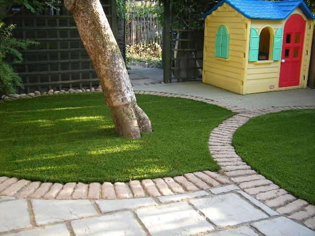 kids play area with astroturf - Google Search | Small ...