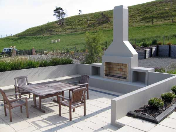 Outdoor fireplaces, outdoor fireplace designs, : Wairarapa