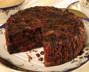 Easy rich fruit christmas cake recipe
