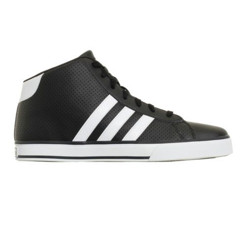 Men Adidas Neo SE Daily Vulc Mid Casual Sneakers New Black White G31006 SKU  P