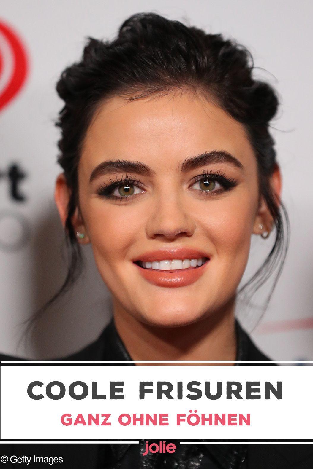 Frisuren ohne Föhnen: So gelingen sie  Coole frisuren, Frisuren