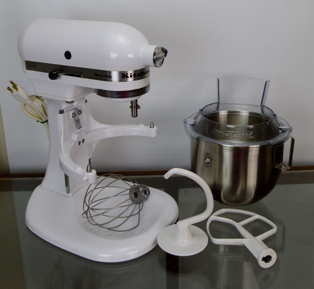 Uncategorized Kitchen Appliance Stand kitchenaid stand mixer heavy duty model k5ss white 5 quart kitchen appliance kitchenaid