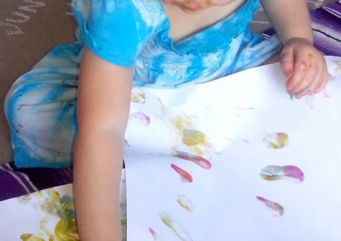 """Completely Edible & Tasty """"Finger Paint"""" Recipe -  How are you today? How about making Completely Edible & Tasty """"Finger Paint""""?"""