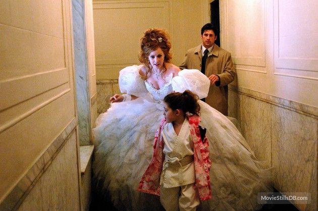 Enchanted - Publicity still of Amy Adams, Patrick Dempsey & Rachel Covey