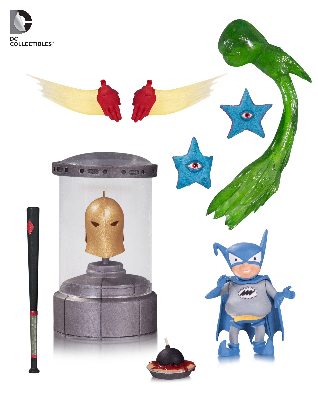 Dcc Dc Icons Accessory Pack 3 Action Figures Retail Pinterest Bott Funko Pop Jl Cyborg
