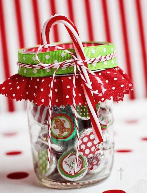 2013 christmas candy jar table decor christmas colorful candy jar with bow creative gifts for 2013 christmas - Christmas Candy Jars