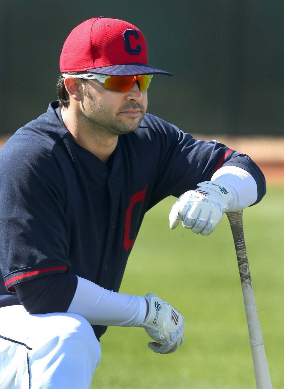 Cleveland Indians outfielders Spring Training 2015