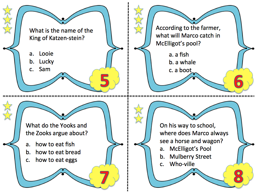 More Than A Worksheet Blog Dr Seuss For Big Kids Reading