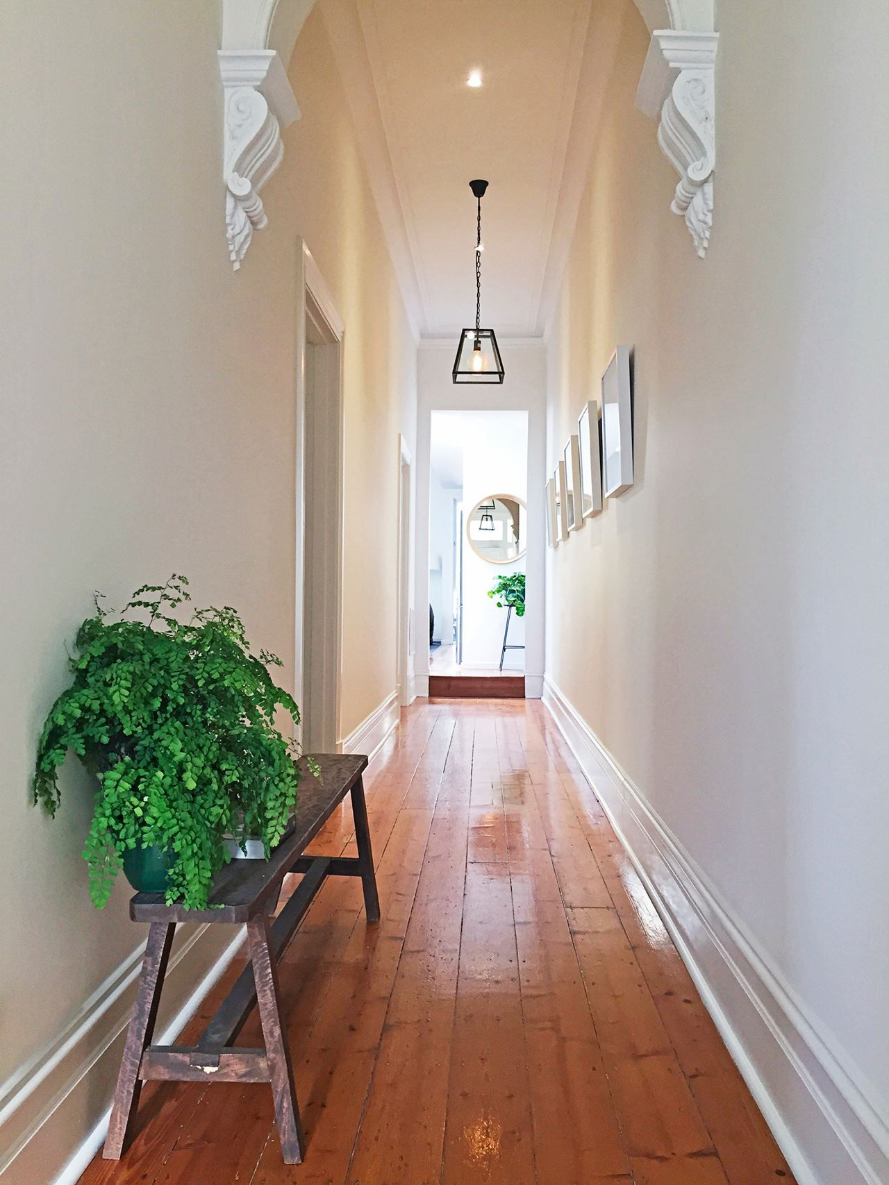 Michelle 39 s miraculous victorian cottage renovation - Federal style interior paint colors ...