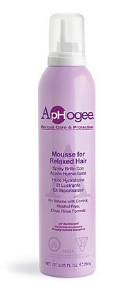 Styling Mousse For Relaxed Hair Or Natural Relaxed Hair Styling Mousse Hot Hair Styles