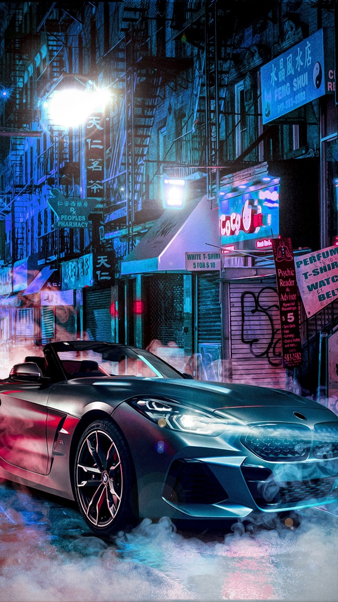 Neon Blue Wallpaper Blue Wallpapers Cool Wallpapers 4k Car Iphone Wallpaper