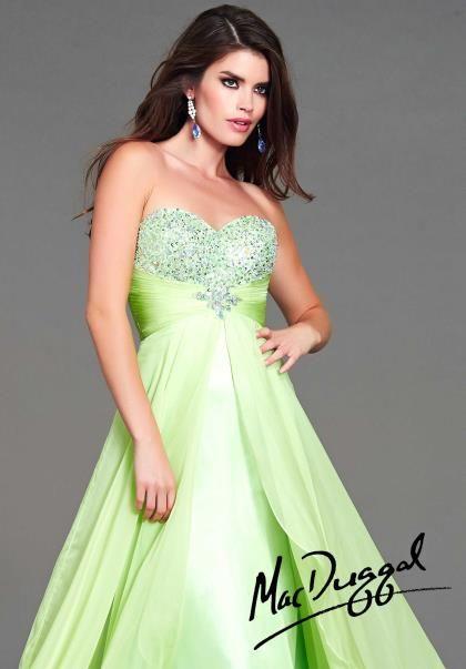 Peach Dresses for Prom Night