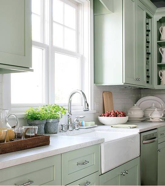 Green Kitchen Cabinets: Final Kitchen Design Notes