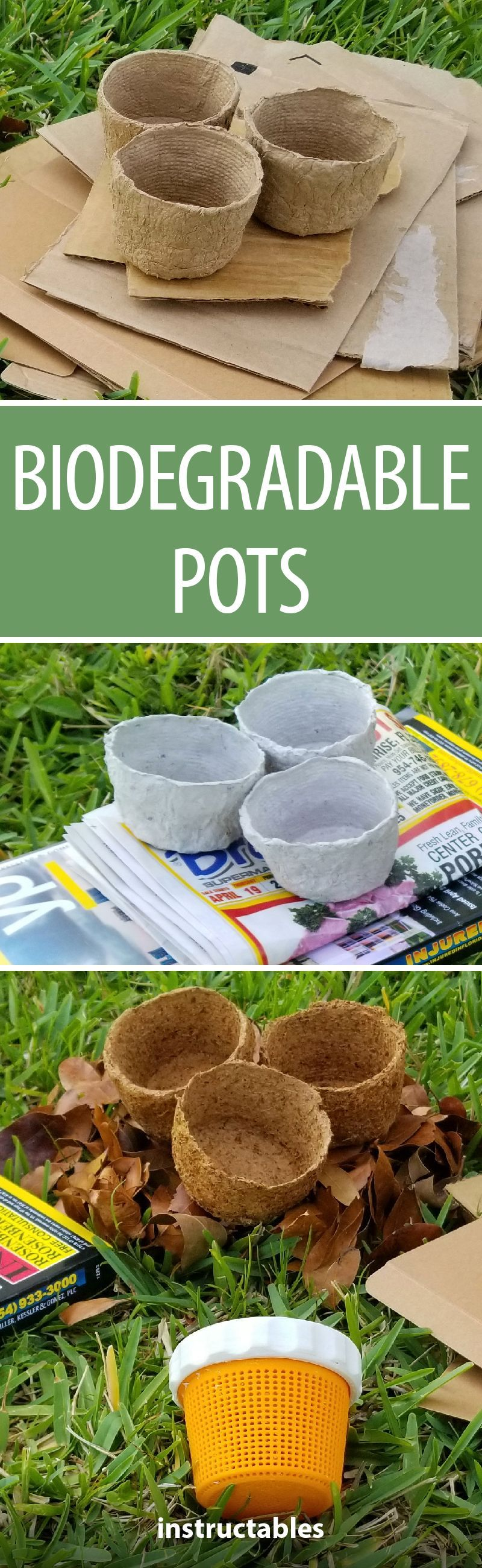 Biodegradable Pots With Images Biodegradable Products 400 x 300