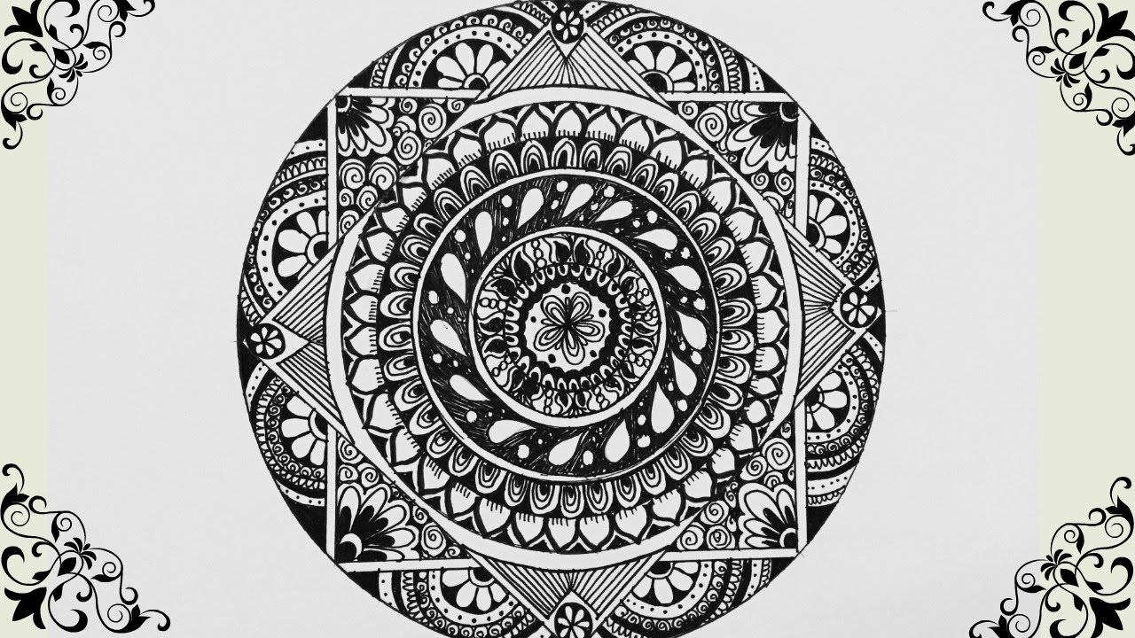 How to Draw : Mandala