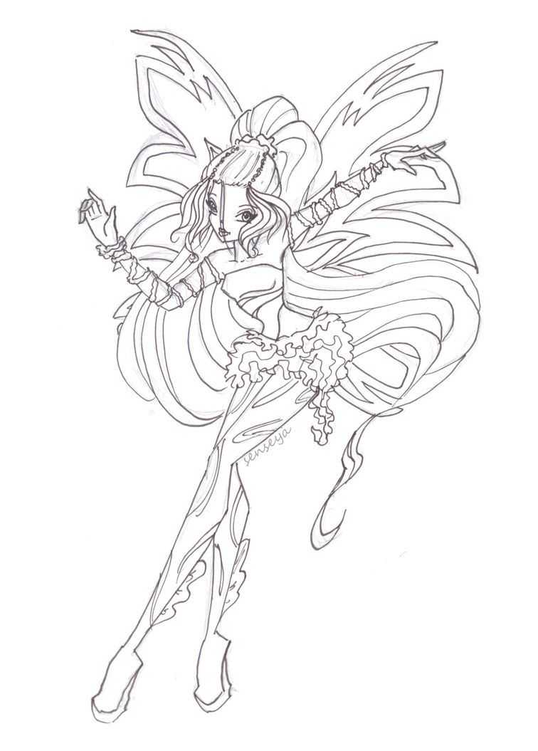 Winx Club Coloring Pages Google Search Fairy Coloring Pages