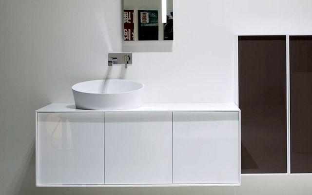 Diseño de baños con lavabos sobre encimera | Cuartos de baño | Pinterest