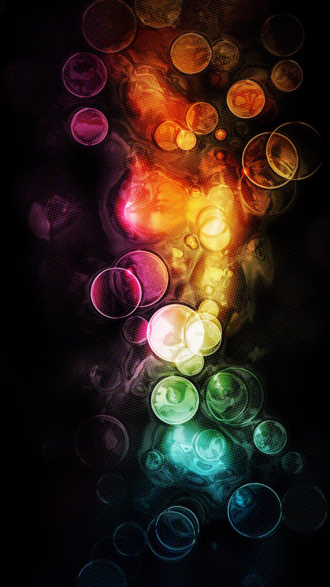 Colorful Bokeh Effect Rainbow Color Bubbles Android