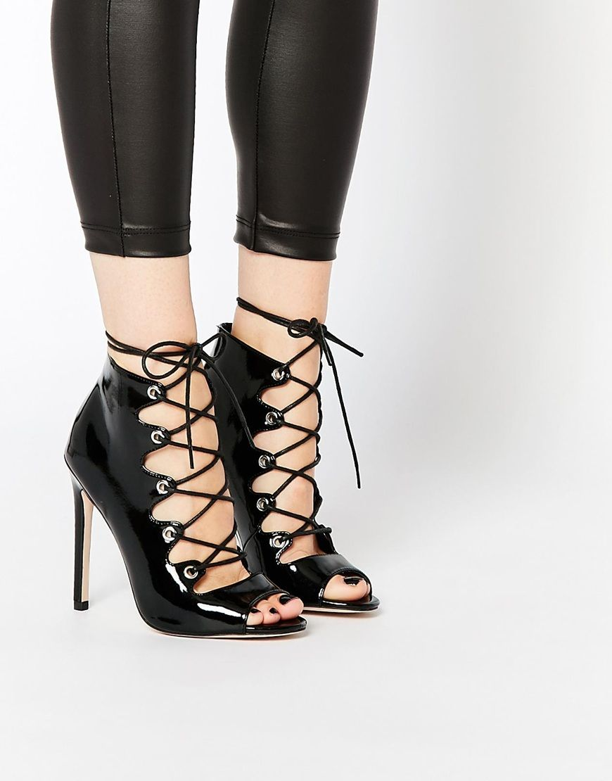 ASOS PIA Lace Up High Heels | Stuff I Want/Just Stuff I Like ...