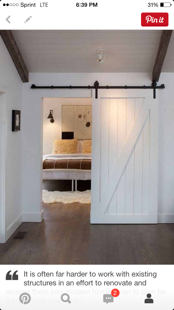 Diy Faux Barn Doors Hollow Core Door Makeover Using Sharpies