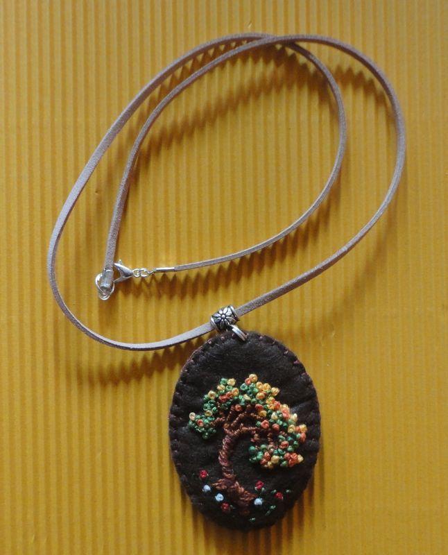 Ogrlice sa filcanim privjeskom
