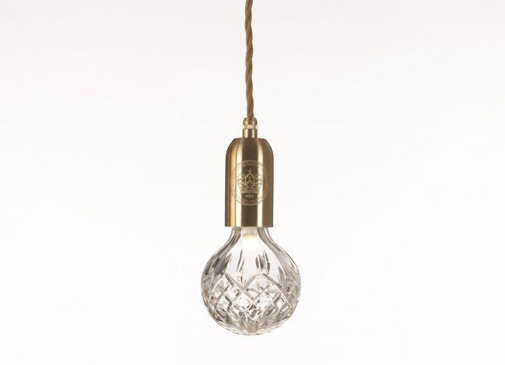 Crystal Bulb & Pendant // Lee Brooms