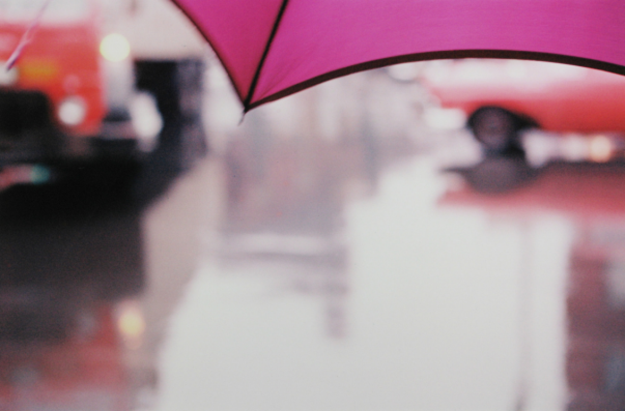 Saul Leiter Purple Umbrella | Colour | Pinterest | Fotografía y Galerías