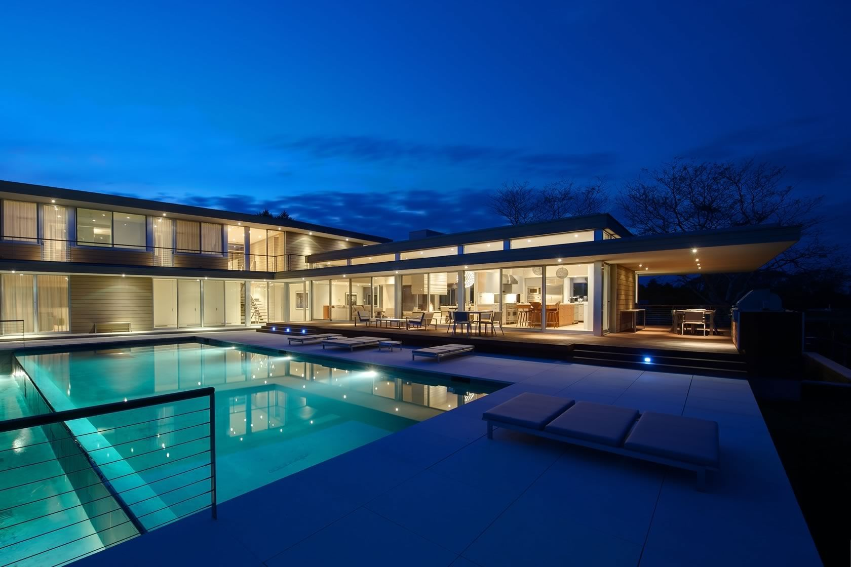 House By The Pond by Stelle Lomont Rouhani Architects Modern