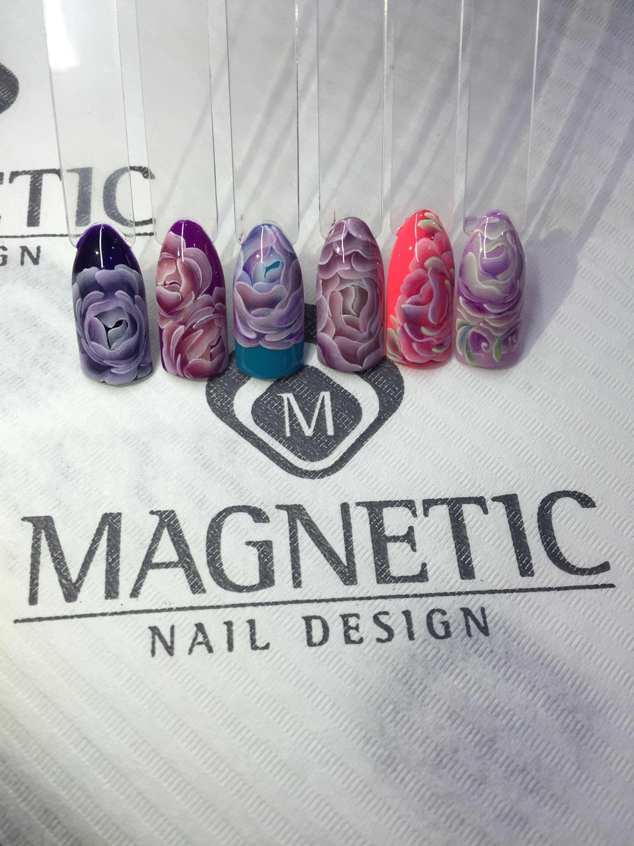 Gelpaste One Coat Color Gel Magnetic Nails Albina Maria Maganails