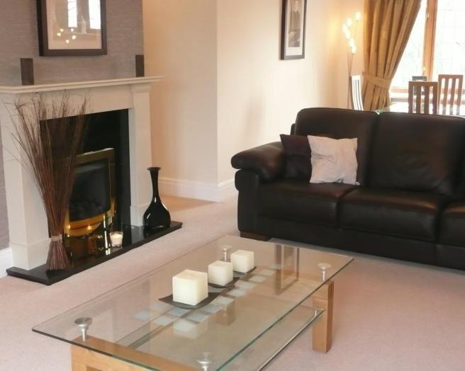 Like The Colour Of The Wall Black Living Room Black Sofa Living