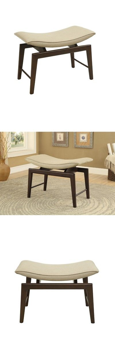 Other Handcrafted Home Accents 160657: Accent Bench H20.50 , Soho Brown  U003e