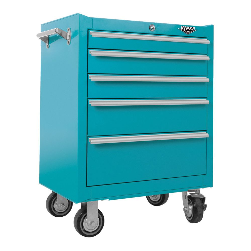 Viper Tool Storage Steel Rolling Tool Cabinet, Purple This Quality Rolling  Cabinet From Viper Tool Storage Is