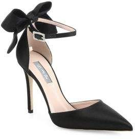SJP by Sarah Jessica Parker Trance Satin Point Toe Bow Pumps #musthave  #musthavestyle #