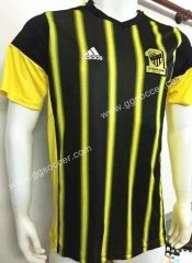 c09887edad57 2016 17 Al Ittihad Yellow and Black Thailand Soccer Jersey