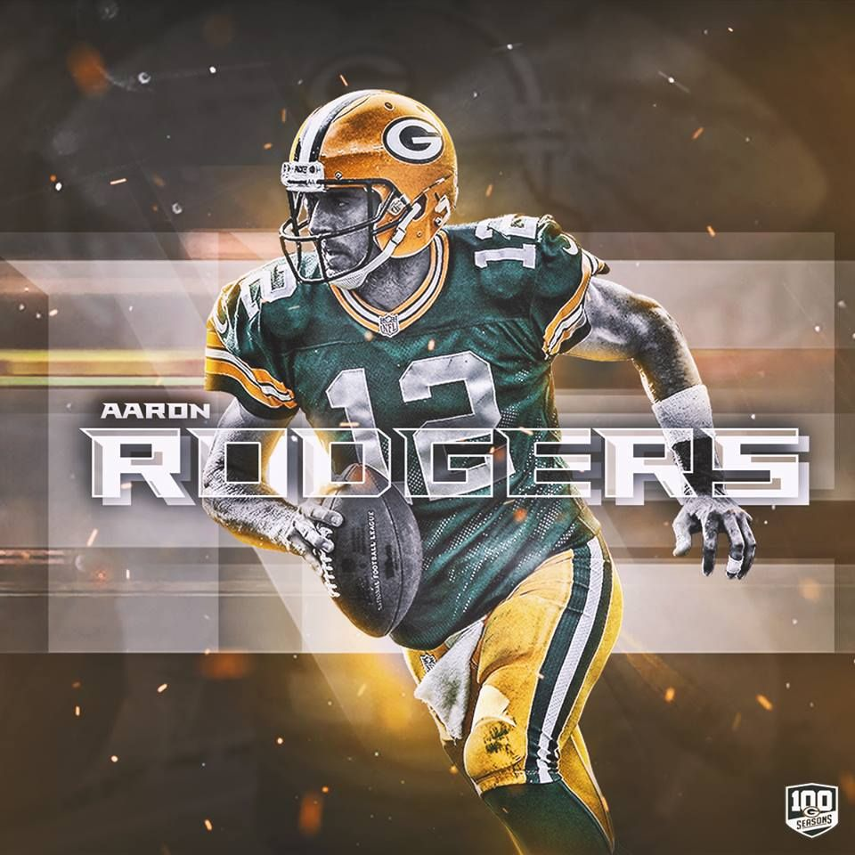 Aaron Rodgers Now Owns The Nfl Record For Longest Streak Of Pass Attempts Wit Green Bay Packers Wallpaper Green Bay Packers Aaron Rodgers Green Bay Packers Art