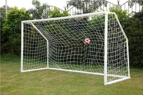 homemade pvc soccer goals kids pinterest goal