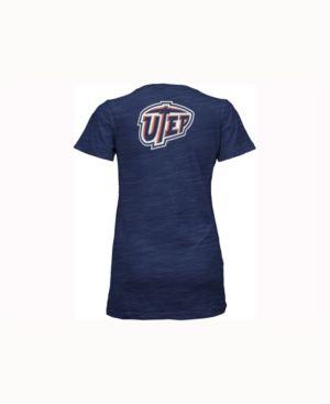 Pressbox Women's Utep Miners Gander V-Neck T-Shirt - Blue L