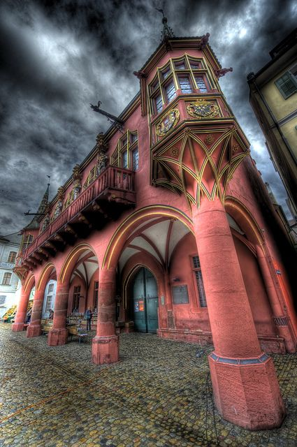 <♥♥✯ The Red House .. by Nik-On!  red medieval building  in Freiburg (Germany)