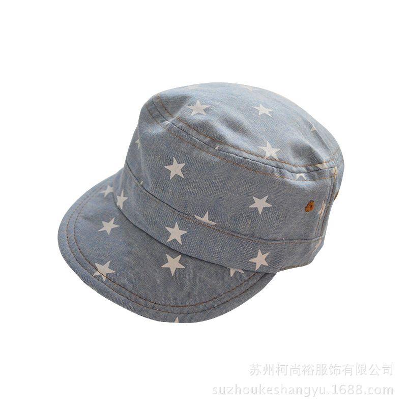 Retro Print Baby Hats Children Baseball Caps Boys Girls Summer Hats Little Stars  Sun Hat Baby e504b047fc71